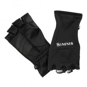 Simms Freestone Half Finger Glove Handschuhe schwarz