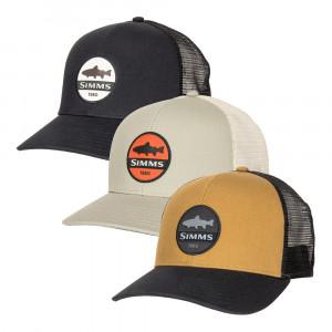 Simms Trout Patch Trucker Cap Kappe