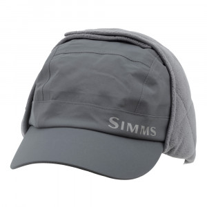 Simms ExStream Hat Gore Tex carbon Kappe front