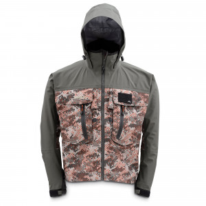 Simms Gore-Tex® Guide Jacke catch camo organge