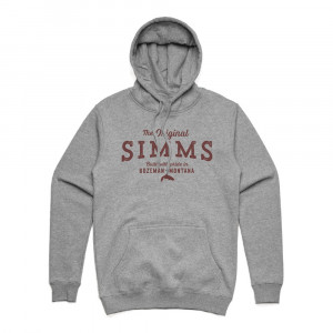 Simms The Original Hoody Kapuzenpullover grey heather