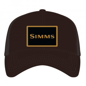 Simms High Crown Trucker Cap bark