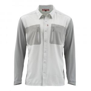 Simms Hemd Tricomp Cool Shirt tundra