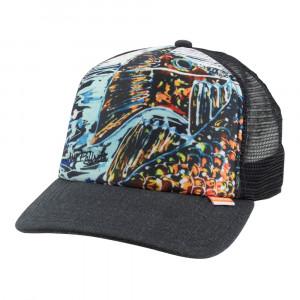 Simms Artist Trucker Cap Kappe black