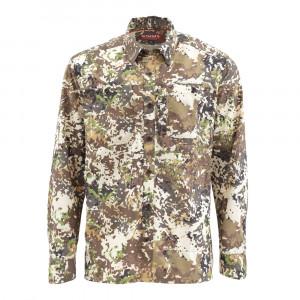 Simms Hemd Ebbtide Shirt Langarm river camo