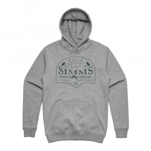 Simms Big Sky Hoodie Kapuzenpullover grey heather