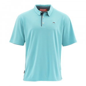 Simms Polo Shirt Kurzarm Hemd light turquoise