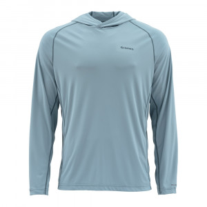 Simms Bugstopper Hoody Shirt grey blue