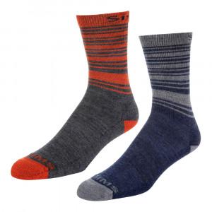 Simms Merino Lightweight Hiker Sock Socken