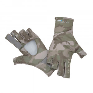 Simms Bugstopper Sunglove Handschuhe pico camo mineral