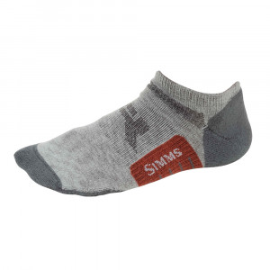 Simms Guide Lightweight No-Show Socken boulder