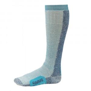 Simms Womens Guide Thermal OTC Socken seaglass