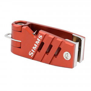 Simms Guide Nipper Schnurclip Simms Orange