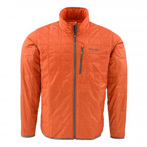 Simms Fall Run Jacke fury orange