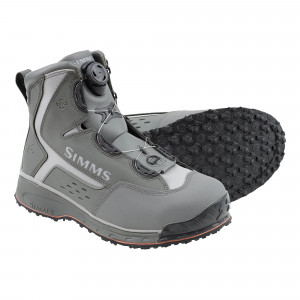 Simms Rivertek 2 Boa Watschuh Vibramsohle, lead, bei Flyfishing Europe