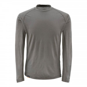 Simms Montana Wool Core Crewneck Gunmetal von Flyfishing Europe