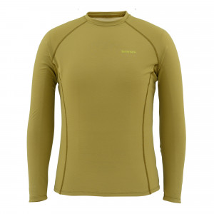 Simms Waderwick Core Crewneck Top army green