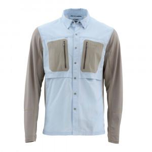 Simms Hemd GT Tricomp Shirt light blue