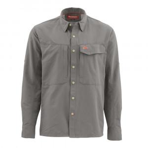 Simms Hemd Guide Shirt pewter