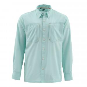 Simms Ultralight Shirt light teal Hemd
