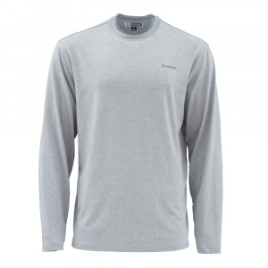 Simms Bugstopper LS Tech Tee granite