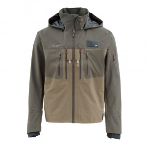 Simms G3 Guide Tactical Watjacke dark olive