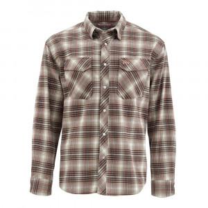 Simms Gallatin Flannel Shirt raven plaid
