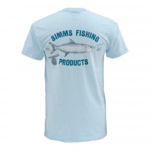 Simms T-Shirt Vintage Tarpon white zum Fliegenfischen bei Flyfishing Europe