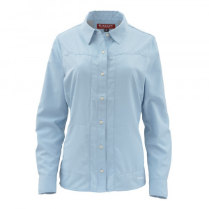 Simms Womens Hemd Isle Shirt blue chill