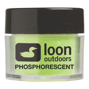 Loon Fly tying Powder Phosphorescent Fliegenbindepuder zum Fliegenfischen bei Flyfishing Europe.