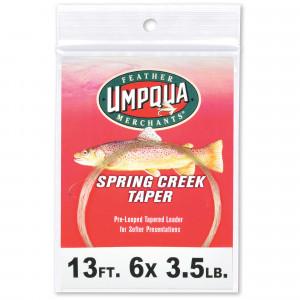 Umpqua Spring Creek Taper Vorfach