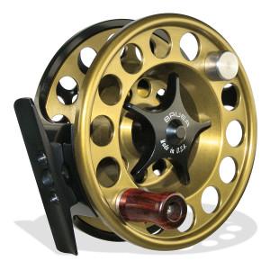 Bauer Mackenzie CFX Fliegenrollen gold zum Fliegenfischen bei Flyfishing Europe