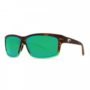 Costa Cut matte Tortuga fade green 580P sunrise silver mirror Polarisationsbrille