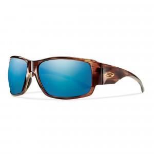 Smith Optics Dockside ChromaPop Polarisationsbrille Havanna/polar blue mirror