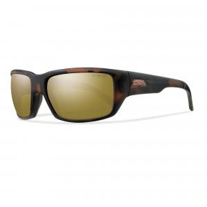 Smith Optics Touchstone ChromaPop matte Tortoise/polar Bronze mirror Polarisationsbrille