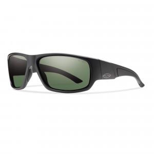 Smith Optics Discord Carbonic matte Black/polar Gray green Polarisationsbrille