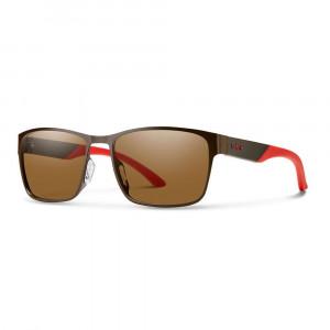 Smith Optics Contra Carbonic Polarisationsbrille matte brown /  polar brown