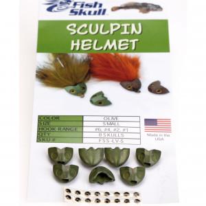 Sculpin Helmets zum Fliegenbinden unter Fliegenbindematerial bei Flyfishing Europe
