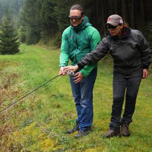 Fliegenfischer Einsteigerkurs Mirjana Pavlic Fliegenfischen lernen