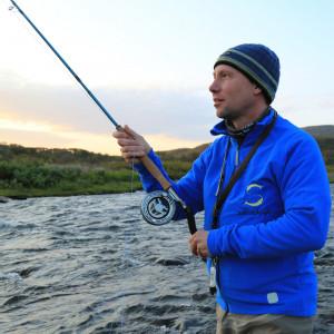 Switchrute werfen lernen zum Fliegenfischen Switch-Kurs