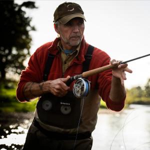 Henrik Mortensen Fliegenfischerkurs Werfen mit der Zweihandrute