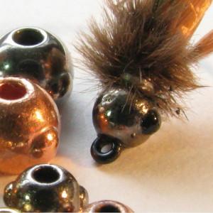 Nymph-Head Fly Tying Beads Goldköpfe reduziert Sonderangebote