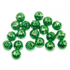 Tungsten Perlen Facettenschliff met. grün zum Fliegenbinden unter Fliegenbindematerial bei Flyfishing Europe