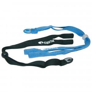 Costa Keeper Softband schwarz und blau Brillenband