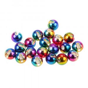 Tungsten Perlen Profi geschlitzt rainbow