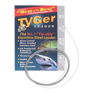 TYGer Leader Stahlvorfach für Raubfische