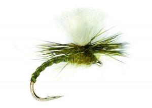 Flexi Parachute olive trockenfliege Emerger Aufsteiger Klinkhammer