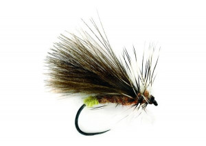 Barbless Caddis SR CdC Double Wing Koecherfliege
