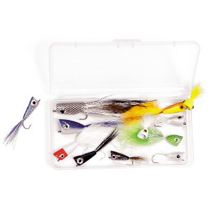 Rainys Fliegenset All-Purpose Poppers Popper-Fliegen zum Fliegenfischen bei Flyfishing Europe
