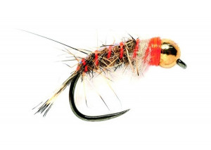 Barbless Tungsten SR Hares Ear Special Nymphe Goldkopfnymphe